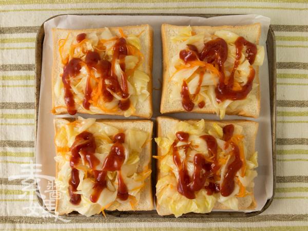 簡單早餐-焗烤土司-7
