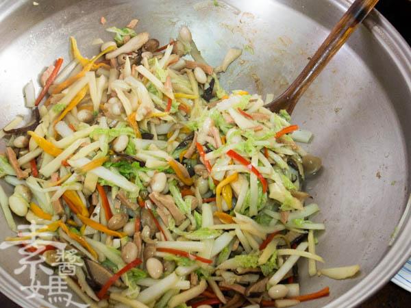 素食年菜料理-什錦白菜封-23