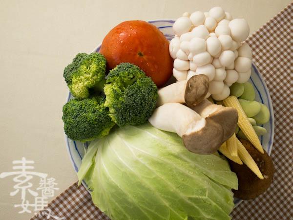 素食年菜料理-南洋風味咖哩鍋-3