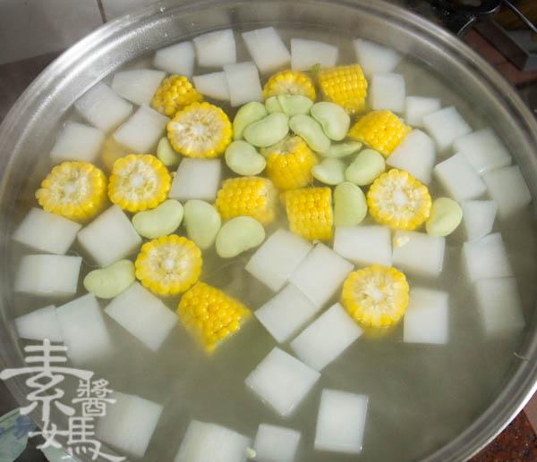 素食年菜料理-南洋風味咖哩鍋-10