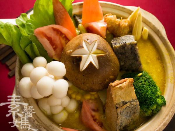 素食年菜料理-南洋風味咖哩鍋-21