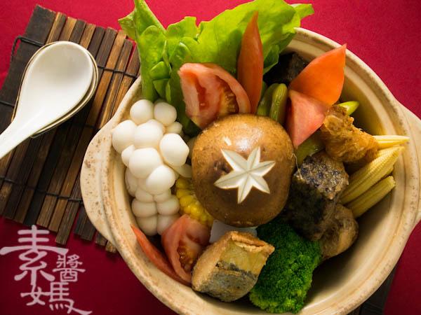 素食年菜料理-南洋風味咖哩鍋-19