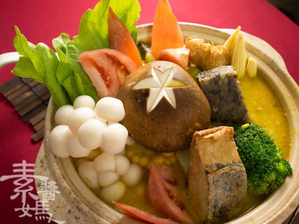 素食年菜料理-南洋風味咖哩鍋-22