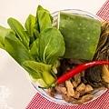 素食年菜料理-梅干(福菜)扣肉-1