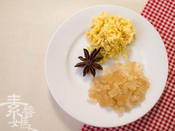 素食年菜料理-梅干(福菜)扣肉-3