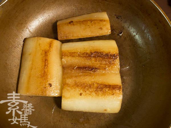 素食年菜料理-梅干(福菜)扣肉-4