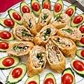 素食年菜料理-香酥芋頭捲-12