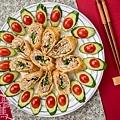 素食年菜料理-香酥芋頭捲-14