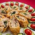 素食年菜料理-香酥芋頭捲-19