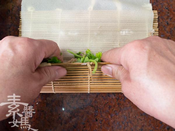 素食年菜料理-香酥芋頭捲-24
