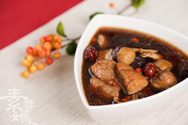 素食湯品-栗子菜圃雞-15