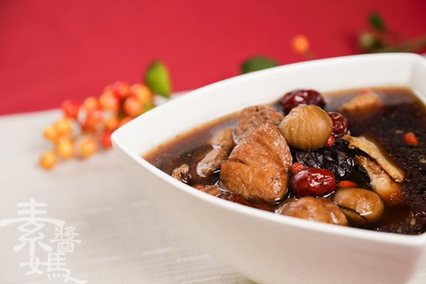素食湯品-栗子菜圃雞-16