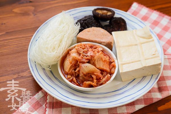 素食料理-泡菜水餃(餃子)-2