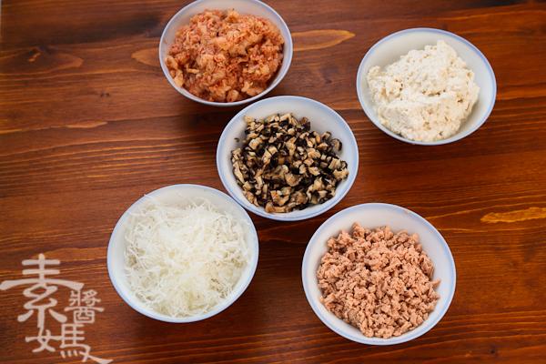素食料理-泡菜水餃(餃子)-3