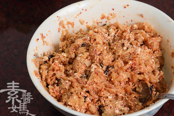 素食料理-泡菜水餃(餃子)-7