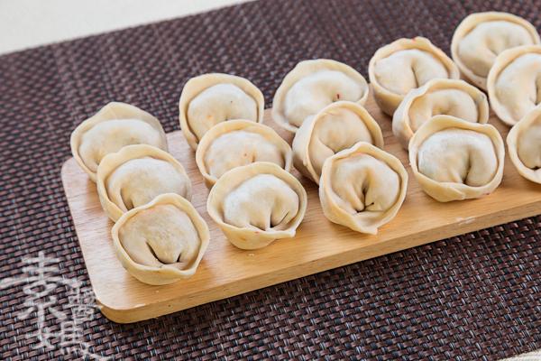 素食料理-泡菜水餃(餃子)-8