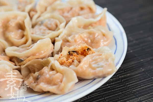 素食料理-泡菜水餃(餃子)-19
