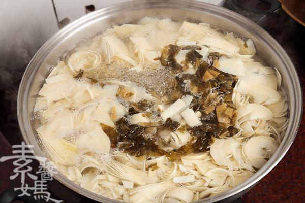 簡單湯品-春筍福菜湯-6