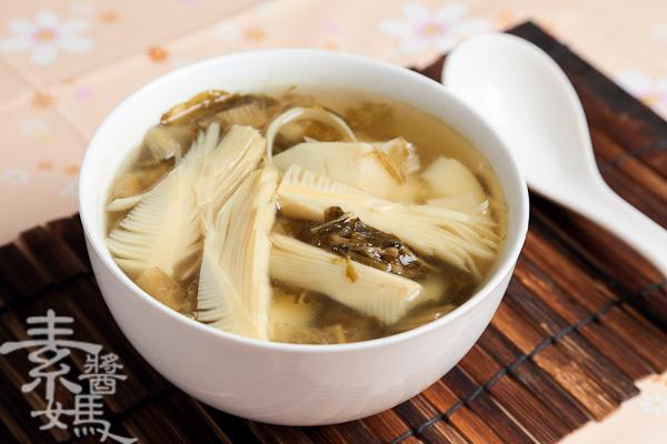 簡單湯品-春筍福菜湯-7