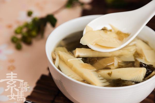 簡單湯品-春筍福菜湯-16