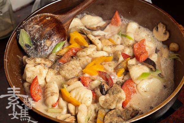 純素義式料理-青醬馬鈴薯麵疙瘩-20