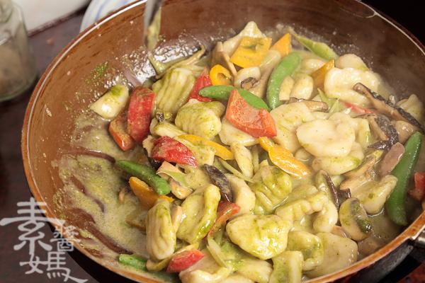 純素義式料理-青醬馬鈴薯麵疙瘩-22