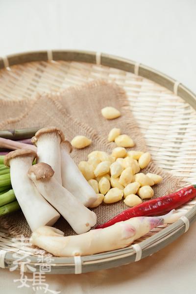 家常宴客菜-素干貝炒蘆筍-3