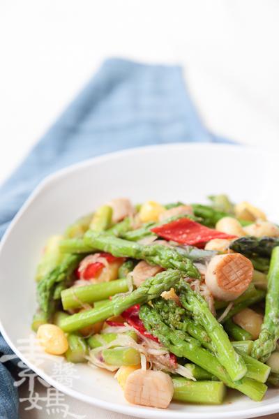 家常宴客菜-素干貝炒蘆筍-20