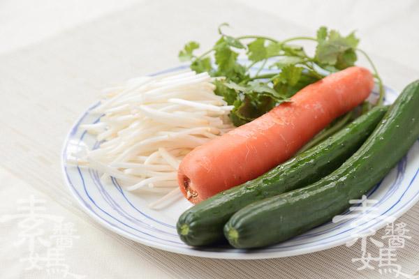 簡單料理-麻醬麵-2