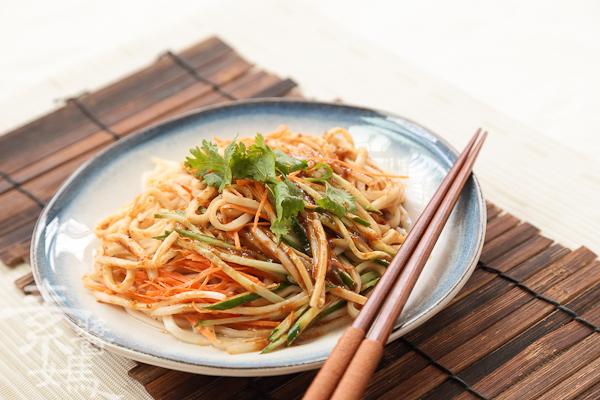 簡單料理-麻醬麵-7