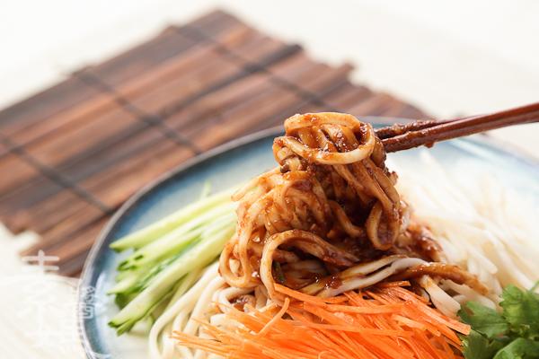 簡單料理-麻醬麵-25