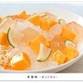 夏日冰品-檸檬愛玉芒果冰-0