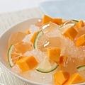 夏日冰品-檸檬愛玉芒果冰-7