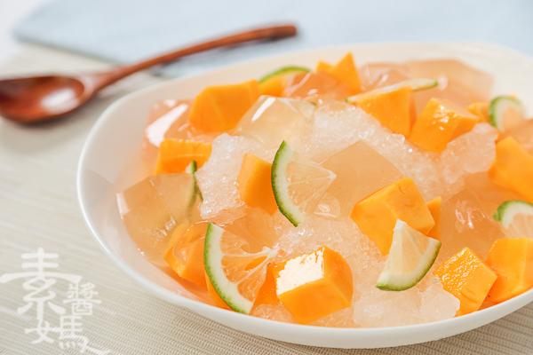 夏日冰品-檸檬愛玉芒果冰-13