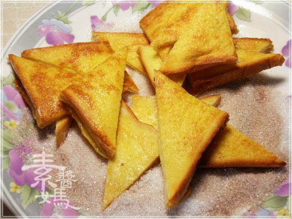 帥哥廚師到我家-肉桂糖粉法式吐司佐焦糖水蜜桃13.jpg