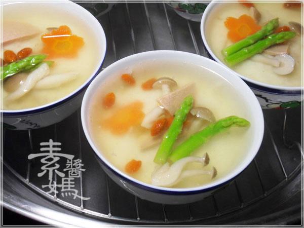 無蛋素料理-山藥茶碗蒸07.JPG