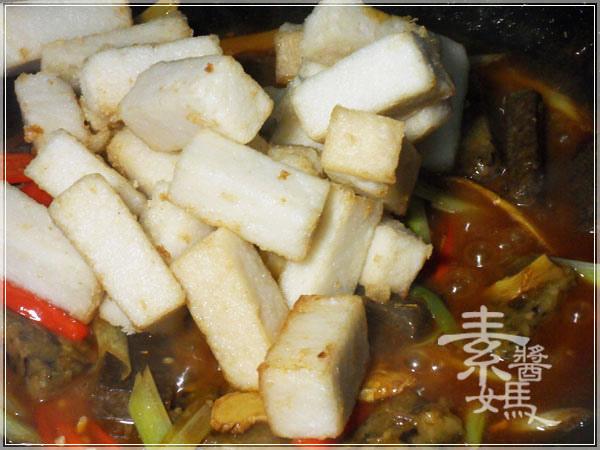 素食料理-紅燒麻油雙糕16.JPG