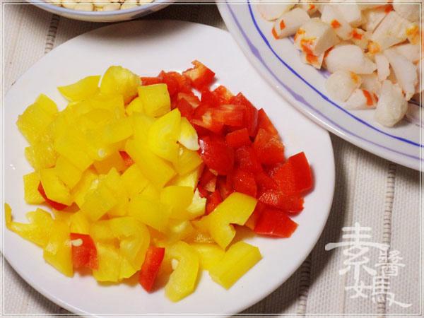 過年年菜-素 生菜蝦鬆04.JPG
