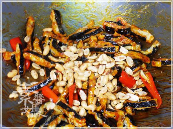 素食小菜 - 糖醋素小魚乾16.JPG
