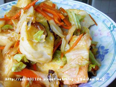 素食料理-炒饅頭10.JPG