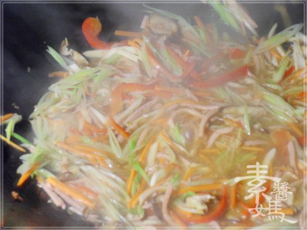年菜料理-五彩富貴慶有餘(素魚料理)16.jpg