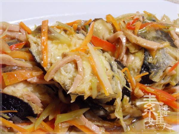 年菜料理-五彩富貴慶有餘(素魚料理)22.jpg