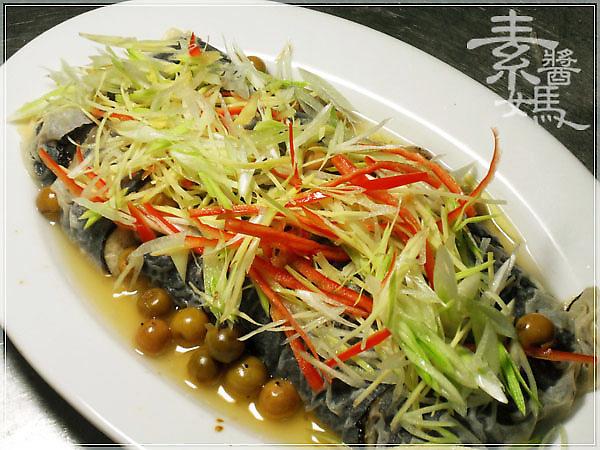 素食料理-樹子蒸鱈魚05.jpg