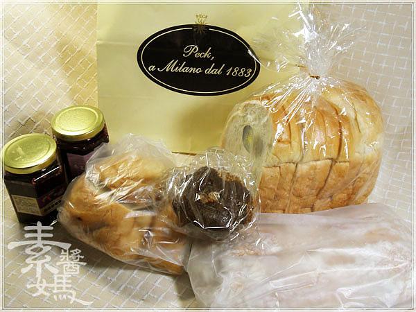 大葉高島屋戰利品-PECK義式麵包&桑葚緣桑葚果醬05.jpg