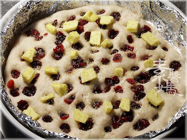 烘焙麵包-蔓越莓佛卡夏 Cranberry Focaccia12.jpg