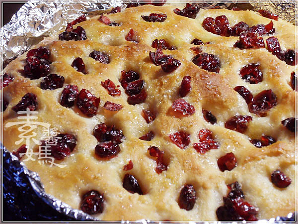 烘焙麵包-蔓越莓佛卡夏 Cranberry Focaccia17.jpg