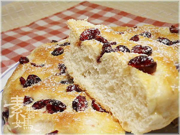 烘焙麵包-蔓越莓佛卡夏 Cranberry Focaccia19.jpg