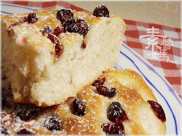 烘焙麵包-蔓越莓佛卡夏 Cranberry Focaccia20.jpg