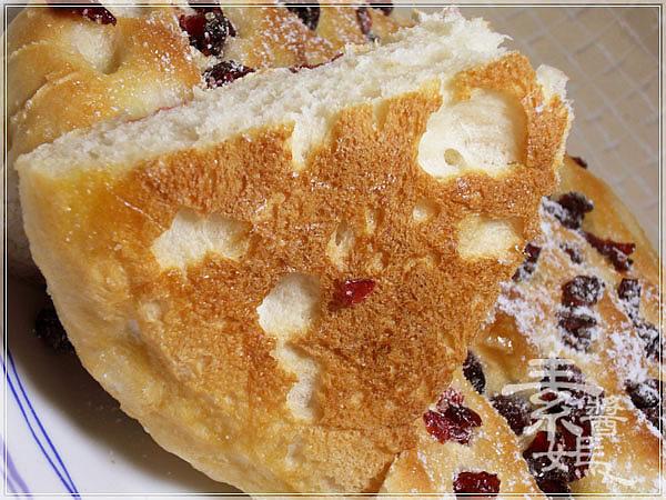 烘焙麵包-蔓越莓佛卡夏 Cranberry Focaccia22.jpg
