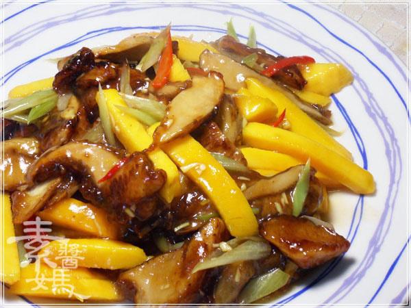 快炒料理-熱炒芒果鮑魚菇17.jpg
